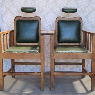 Antique Dentist Chairs