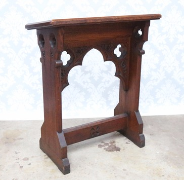 Antique Oak Reading Desk