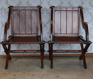 Pair of Glastonbury Chairs