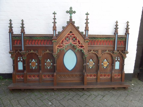 Antique Reredos