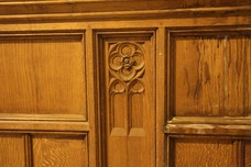 Antique Oak Panel