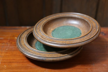 Antique Donation Plates