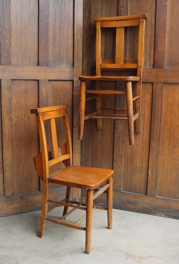 Antique Chapel Chairs