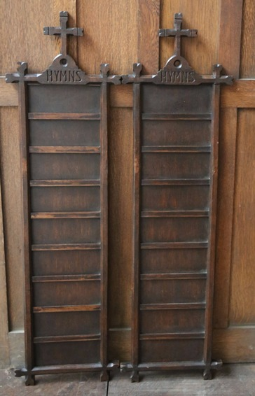 Antique Hymn Boards